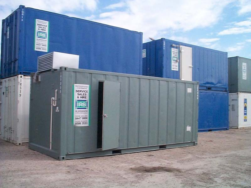 20' Refrigerated container single phase