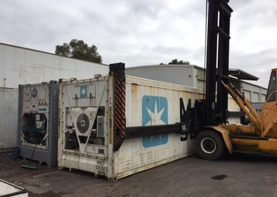 A variety of Second hand 40 foot Refrigerated containers for sale