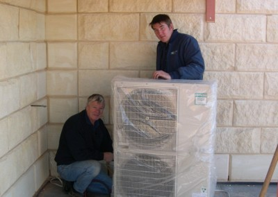 Commercial air conditioning installation and servicing