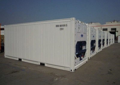 NEW REEFERS 20' Containers, refrigerated carrier