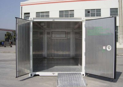 NEW REEFERS 20' internal view, refrigerated containers