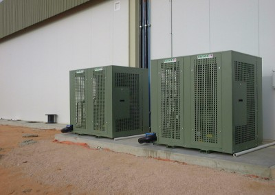 Two exterior refrigeration units Packing Plant Yandilla Park S.A.