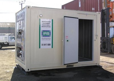 USED REEFERS 14' side door refrigerated container
