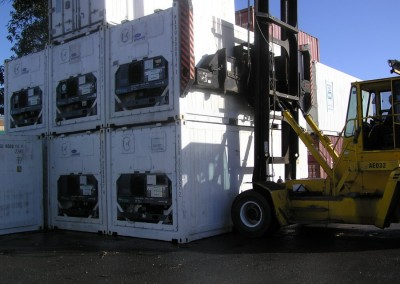 USED REEFERS 20' Containers, refrigerated carrier