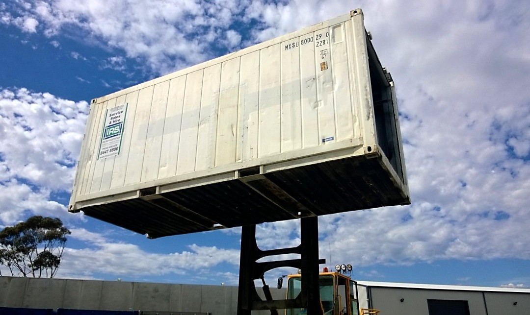 Install Shipping Container Refrigeration 2014-2015