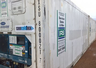 Short term hire of refrigerated and non refrigerated shipping containers by the Australian Army