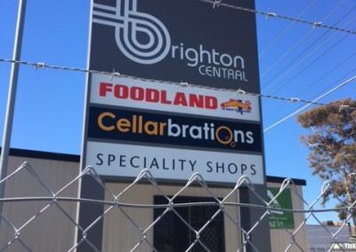 Brighton Central Supermarket has hired refrigerated shipping containers for 9 months whilst the centre is upgraded.