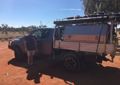 IRS refrigeration maintenance team conduct maintenance rounds travelling through South Australia including Broken Hills and Alice Springs 3