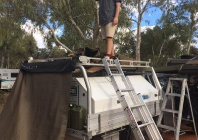 IRS refrigeration maintenance team conduct maintenance rounds travelling through South Australia including Broken Hills and Alice Springs4