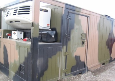 20' Dual zone, diesel electric container