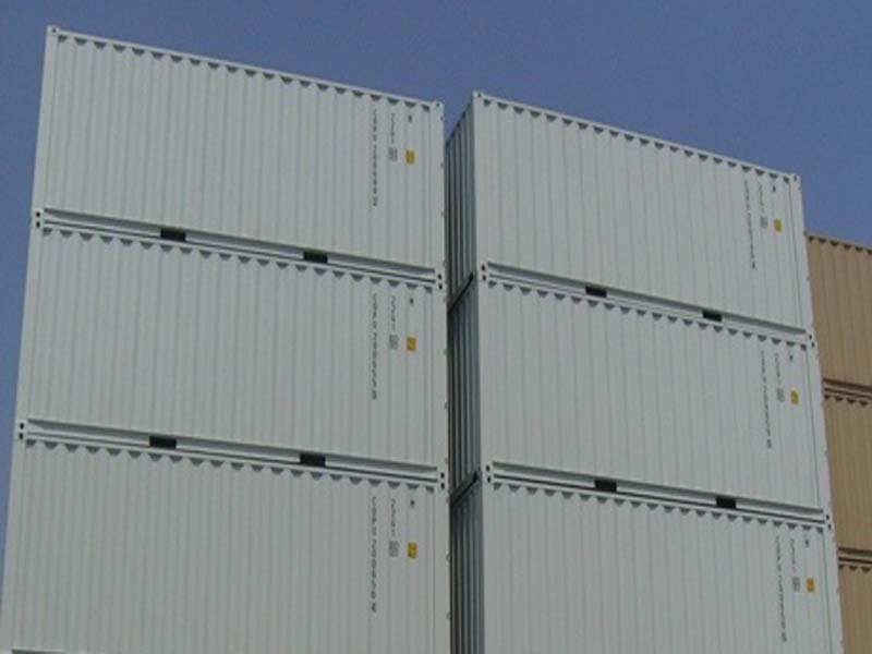 20' General containers new stack