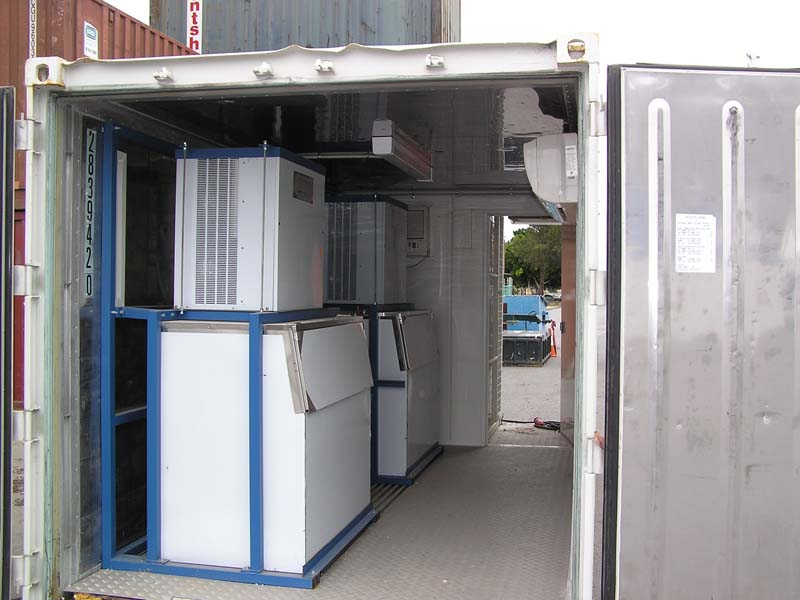 20' Ice machine container