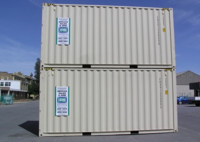 20' New general purpose container Hi Cube 9' 6