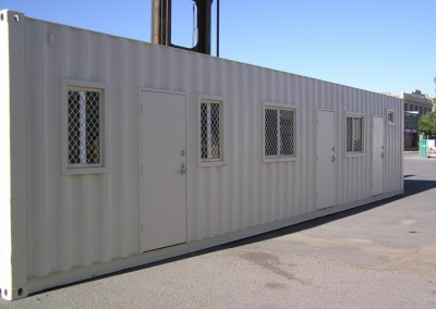 40' Accommodation unit
