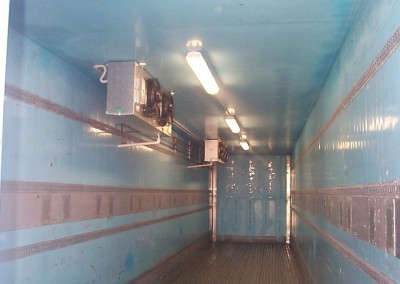 50' Freezer electric refrigerated storage