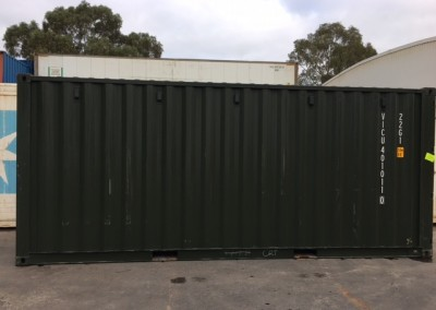 A variety of New build shipping containers for Sale at $3500 plus gst