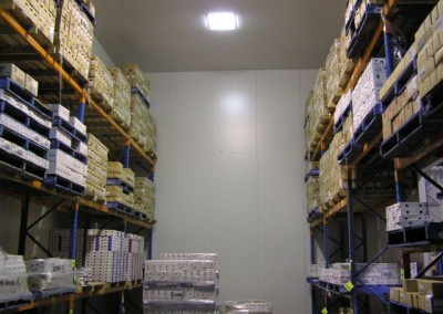 Coolroom built to house a wide variety of food products