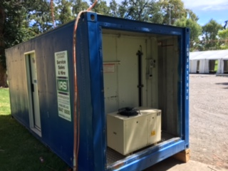 IRS Refrigeration hired refrigerated shipping containers to the WOMAD music festival in Adelaide