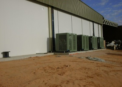 Outside multi plant enclosures Renmark S.A.