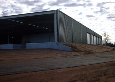 Truck loading form coolrooms built in Renmark