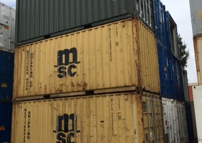 Used 20' shipping containers Prices start from $2000 plus gst