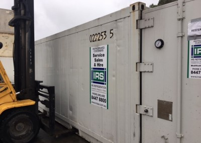 Used - Three phase power refrigerated shipping container $7000 plus gst
