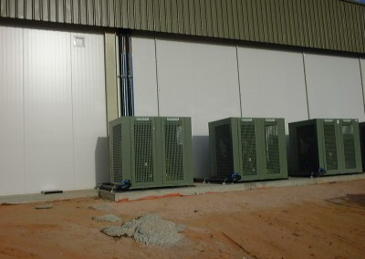 Yandilla  Park Renmak fruit packing plant for which IRS Refrigeration Pty Ltd supplied the coolrooms