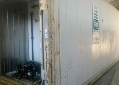 Reconditioned dual refrigerated motors for operating shipping container