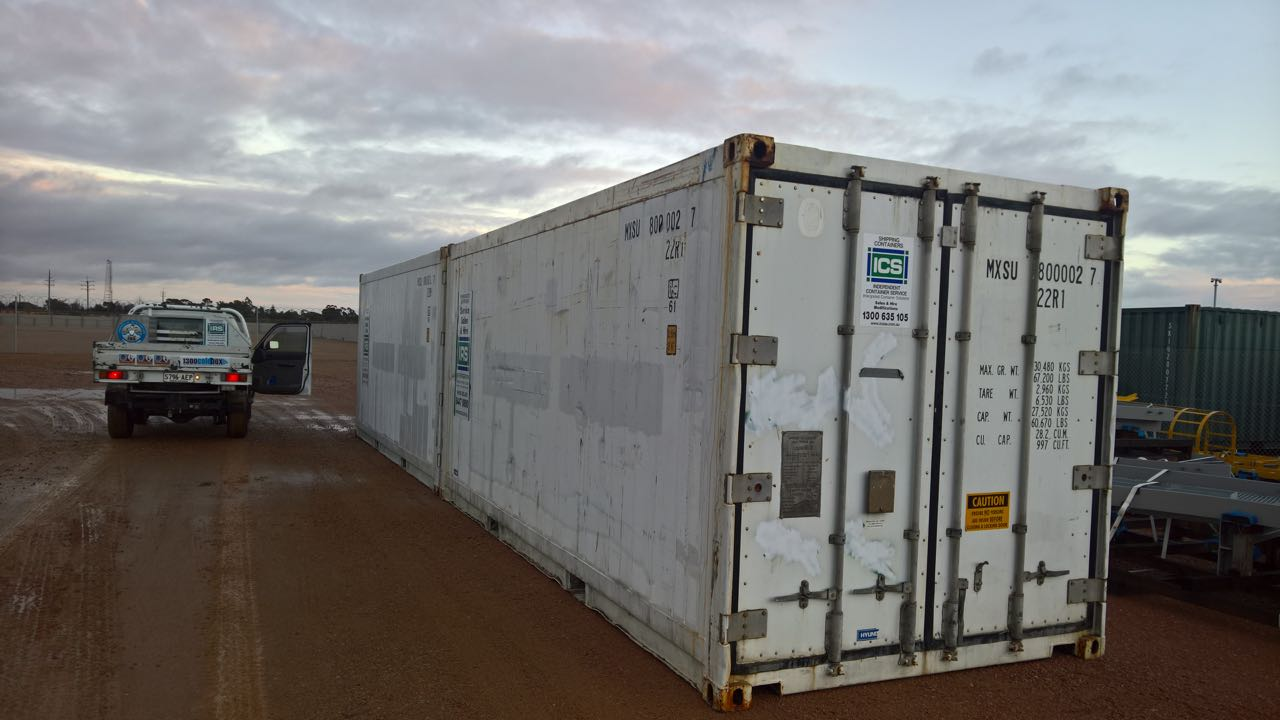 Lrs Joins The Army Irs Refrigeration