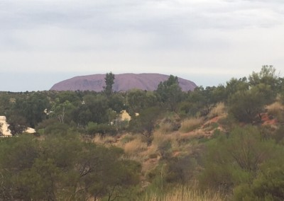 Captured this view on our way to Ayers Rock for quarterly maintenance work