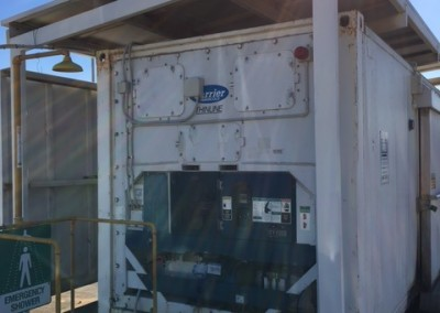 We installed this new 40' reefer at South Austrailian Fisheries Research,North Arm Store in Port Adelaide